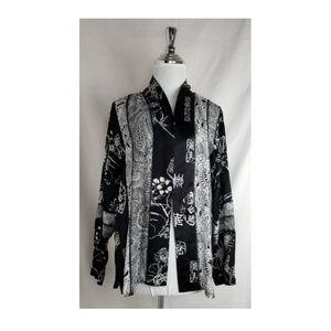 Beautiful Silk kimono open fron cardigan